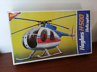 Rare Nichimo Hughes H-500 Motorized Helicopter 1/20 Scale Model # S-2003 MIB