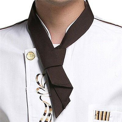 Coffee Fashion Print Neckerchief Chef Scarf Waiter Waitress  Hotel Restaurant