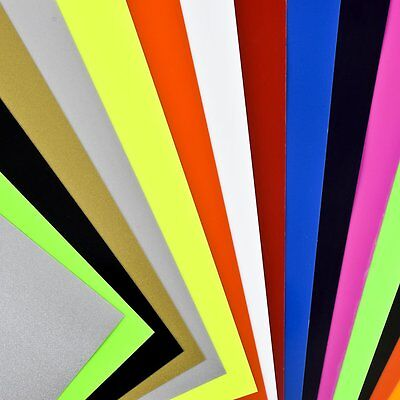 Angel Crafts  Heat Transfer Vinyl Sheets A4 Size 16 PACK For Shirts Clothing