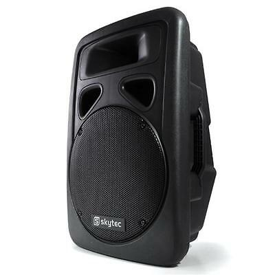 """Active 12"""" Inch Speaker 300W Rms Moulded 170.313 Pa Dj Equipment Mobile Disco"""
