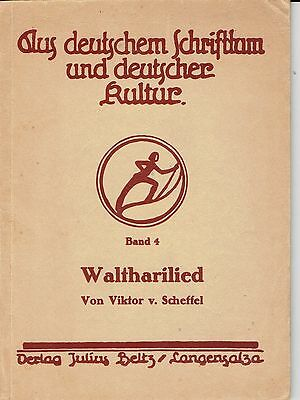 The Waltharilied From German Literature & German Cultural Literature 4 Book 1938