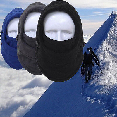 NEW Winter Warm Fleece Warmer Hat Neck Ear Face Cover Mask Windproof For Cycling