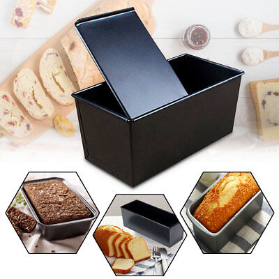 23.5x12.5x11cm Rectangle Loaf Bread Pastry Cake Tin Box Nonstick Baking Bakeware