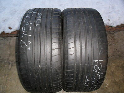2x Summer Tyres Dunlop SP Sport Maxx GT 275/35/21 ZR21 103Y Extra Load R01
