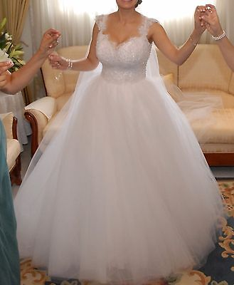 Couture Wedding Dress Size 10-12
