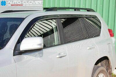 For Toyota Land Cruiser 150 2009 - 2015 Wind Deflector Set (6 pieces)
