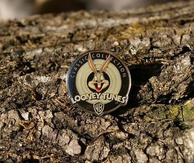 """""""Looney Tunes WB Classic Collection"""" Bugs Bunny Warner Brothers Pin Pinback 1998"""