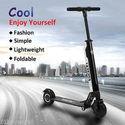 Foldable Electric Kick Scooter 350W Motors 3 Gear Speeds Max 30km/h With Battery