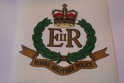 """2 X Royal Military Police  Hm Armed Forces  Stickers  4"""" British Army"""
