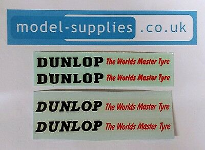 Dinky 290 Double Deck Bus Dunlop Tyres Reproduction Waterslide Transfers Set