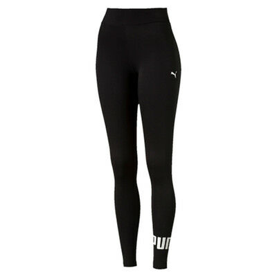 Puma Ladies Essential No 1  Logo Tights - Bnwt - Free Postage Black