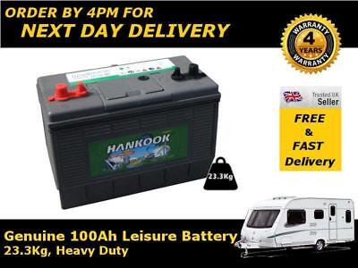 12V 100AH 110 Deep Cycle Battery Numax DC31MF Leisure Caravan Marine Boat 500 Cy