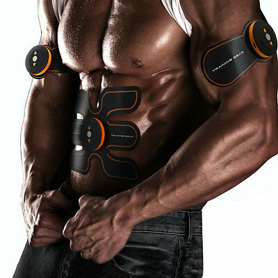 Muscle Stimulation Fitness Electrical Massage Body Builder Training Massager Abs