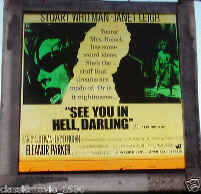 See You In Hell Darling Original Glass Slide