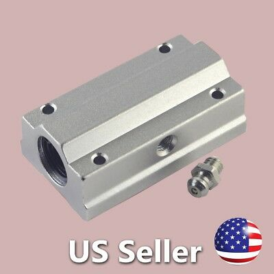 Linear Bearing Busing for 8mm Shafts SCS8LUU SC8LUU CNC Router Mill Linear Stage