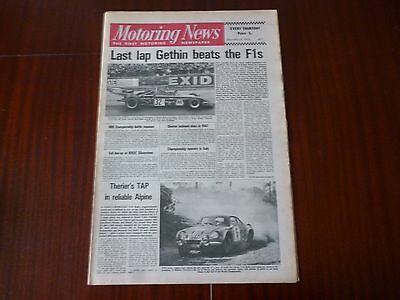 Motoring News 22 March 1973 Peter Gethin Race Of Champions,jean-Luc Therier-Tap