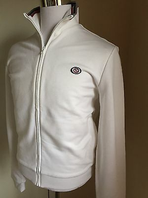 NWT $795 Gucci Men's Jacket Sport Jacket Blazers White Size L Italy