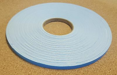 30 rolls - white Single Sided Foam Tape Closed Cell 10mm Wide x 2mm Thick  x 20m