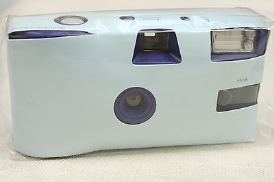 Baby Blue Disposable Wedding Camera Light Blue Party Camera Single Use 10 Pack