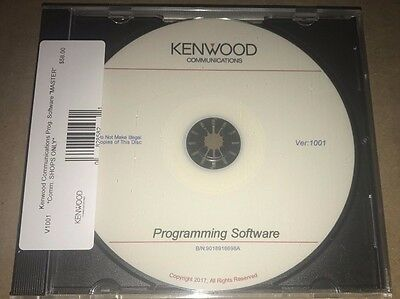 Kenwood Comm KPG Radio Programming Software Master CD Perfect For Radio Shops!