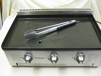 Extra Long Heavy Duty Stainless Steel Burger Tongs Catering Trailer Lpg Griddle
