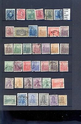 Stamps Lot Argentina Used  (L13390)