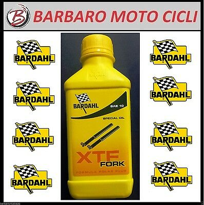 BARDAHL XTF FORK SPECIAL OIL 10W SAE 10 OLIO FORCELLA 500 ml YAMAHA MAJESTY 400