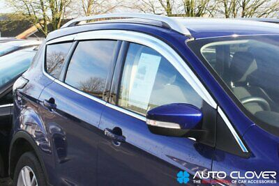 For Ford Kuga 2012+ Chrome Wind Deflectors Set (8 pieces)