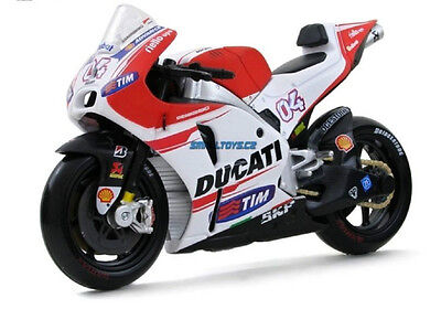 Maisto 1:18 Ducati Desmosedici GP15 Andrea Dovizioso NO04 Motorcycle Bike Model