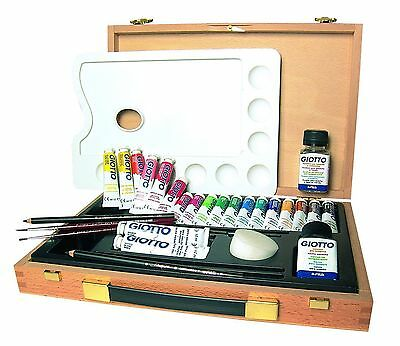 GIOTTO Professional Tempera Set for Young Artists
