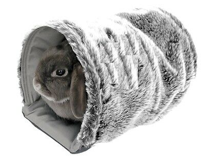 Pet Snuggle Tunnel Reversible Small Cozy Mat Warm Rabbits Ferret Guinea Pig