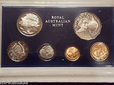 Australia 1970 Proof Set in RAM Case -Outer foam with Mint tape-Original