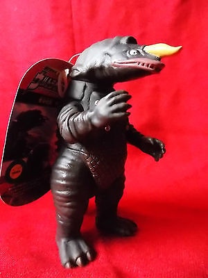 "NEW! Zaragas + TAG / BANDAI Sofubi PVC Figure 5"" 13cm KAIJU UK DESPATCH"