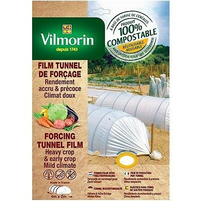 Film tunnel costringendo - farina di cereali - 2m x 8m 20µm
