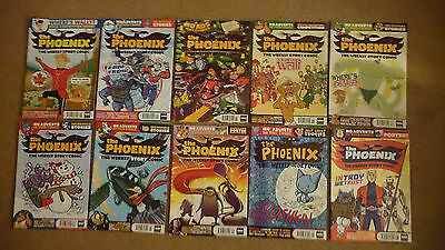 The Phoenix The Weekly Story Comic Issue 101 to 110