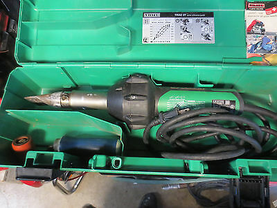 Leister Triac ST Heat Gun Welder Hot Air Blower 141.228 120 Volt great condition