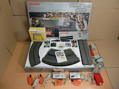 Stabo Car Silver Cup Grundpackung mit 2 Autos, Regler, Trafos ... (SO1566)