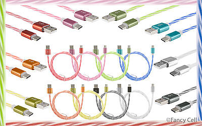 Twisted Dual Color USB 3.1 Type C Reversible A Sync Charge Cable for New Devices