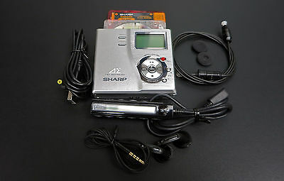 Sharp Auvi MD-DR77 Personal MiniDisc Recorder