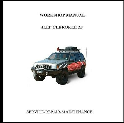 New Professional Jeep Grand Cherokee Zj 1993-1998 Official Service Repair Manual