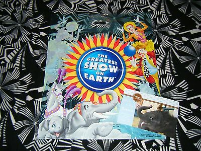 Ringling Brothers Barnum Bailey Circus Souvenir Bags and Flyer