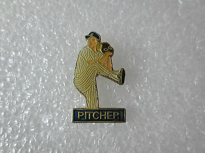 USA Major League Baseball Player Pitcher Metal Pin Badge, USA Sport Memorabilia
