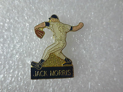 Jack Morris USA Major League Baseball Player Metal Pin Badge, Sport Memorabilia