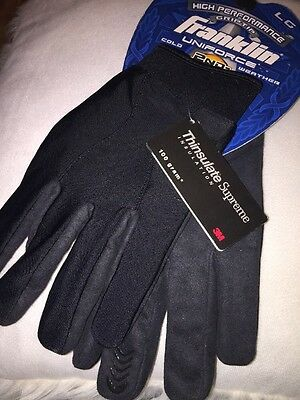 Franklin Uniforce Cold Weather Tactical Gloves, Black  - Large