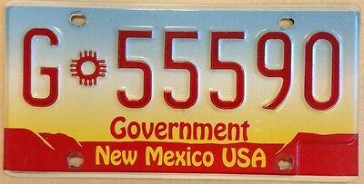 Vintage GOVERNMENT POLICE HIGHWAY PATROL license plate Triple 5 555 Breaking Bad
