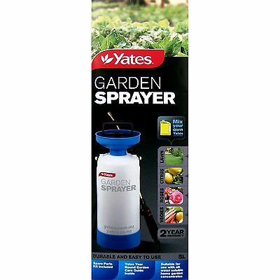 Yates GARDEN SPRAYER Durable Robust Pump Pressure Mechanism Lockable 5L Capacity