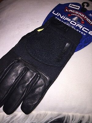 Franklin Uniforce Cut Resistant Tactical Gloves, Black - Kevlar Lined  - XL