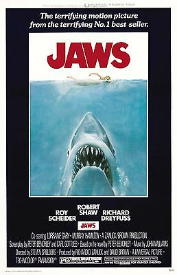 JAWS 11x17 Movie Poster collectible