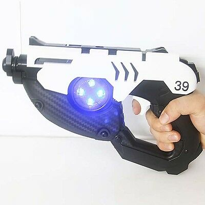 Overwatch OW Tracer Double Guns Cosplay Props Original 1:1 Size ABS Plastic Toys