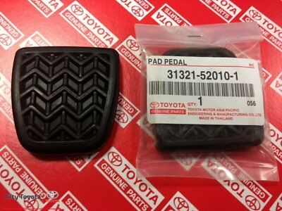 New Toyota Genuine Brake/Clutch Pedal Pads Hilux LCruiser MTM (Pair) 31321520101